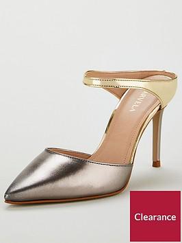 carvela-agnes-leather-heeled-mules-gunmetal-silvergold