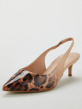 Carvela Alita Kitten Heeled Shoe