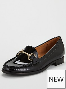 carvela-click-patent-loafer-black