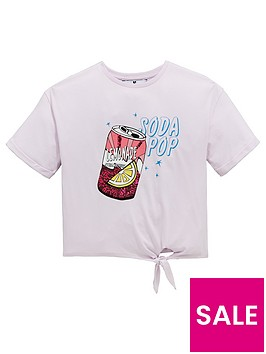 v-by-very-girls-soda-tie-knot-top