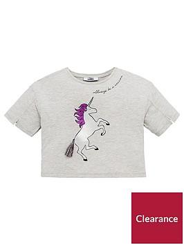 v-by-very-girls-unicorn-tassel-short-sleeve-t-shirt-grey