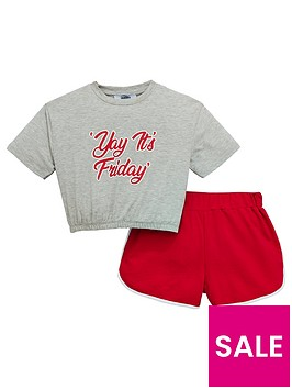 v-by-very-girls-slogan-t-shirt-amp-short-outfit