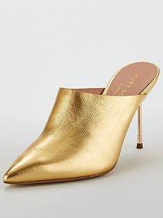 kurt-geiger-london-kurt-geiger-london-berner-gold-leather-heeled-mule-shoe