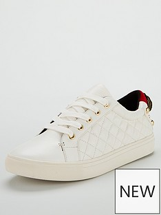 kurt-geiger-london-ludonbspleather-quilted-trainer-white