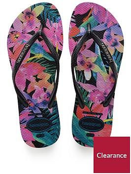 havaianas-slim-tropicalblack-flip-flop