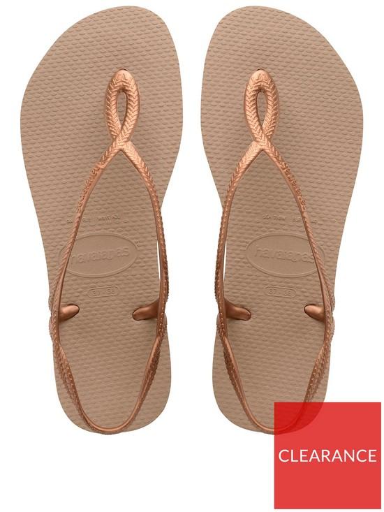 8aef4d2f9 Havaianas Luna Flat Sandal Flip Flop