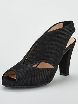 Carvela Arabella Suede Heeled Sandals - Black