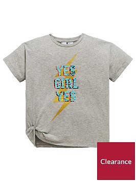 v-by-very-girls-reversible-sequin-slogan-t-shirt