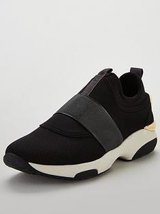 carvela-laidback-trainer-black