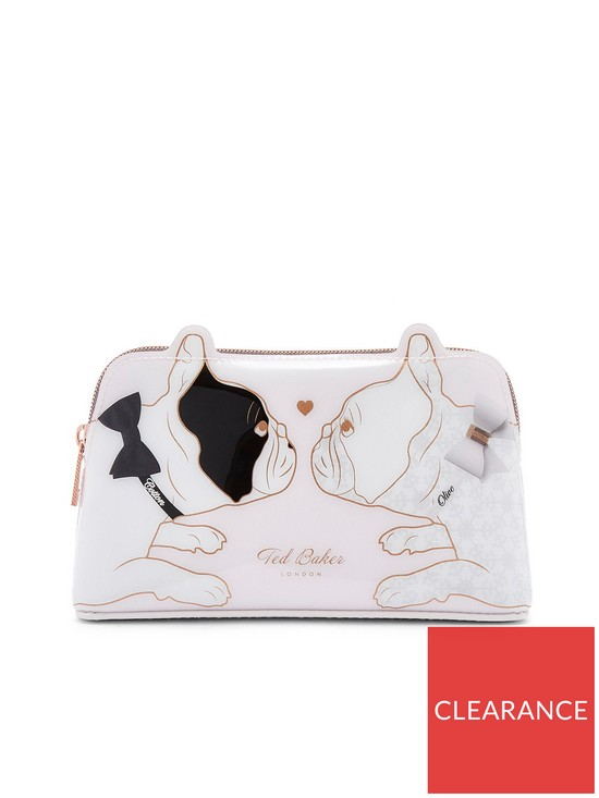3c6c7f9dcb7c Ted Baker Aria Cotton Dog Makeup Bag - Nude Pink