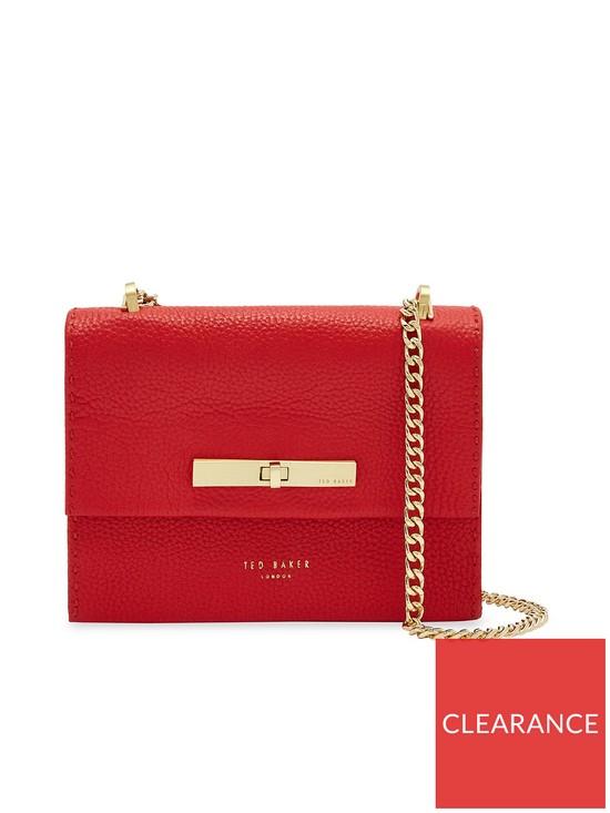 af8b8fa55cae Ted Baker Juliah Concertina Mini Cross Body Bag - Red