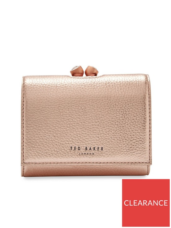 85e34b4ddca9c Ted Baker Valery Mini Bobble Purse - Rose Gold