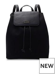 ted-baker-jiejie-backpack-black