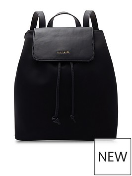 ted-baker-jiejie-backpack-black