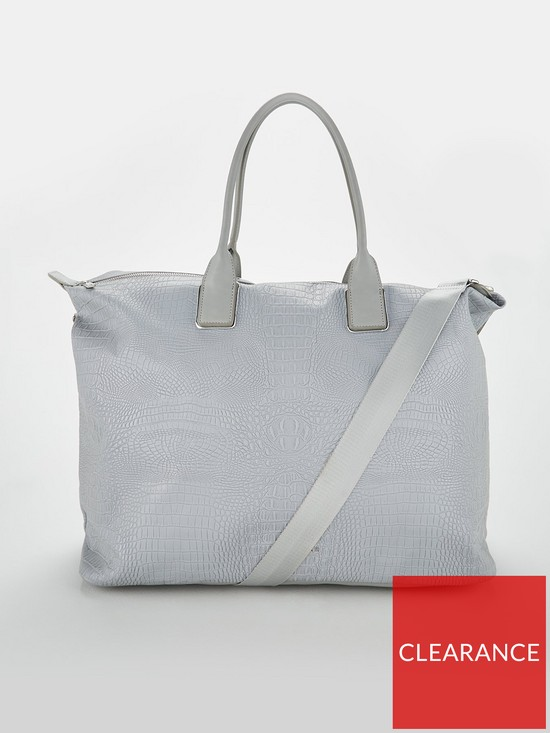 0087167fd1bb7 Ted Baker Ted Baker Cressie Reflective Large Nylon Tote Bag