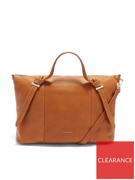 Ted Baker Oellie Knotted Handle Large Tote Bag - Tan   very.co.uk da00b14738