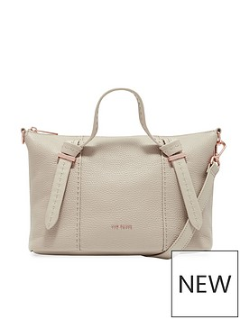 ted-baker-olmia-knotted-handle-small-tote-bag-taupe