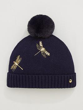 ted-baker-wendel-dragonfly-pomnbsppom-hat-dark-bluenbsp