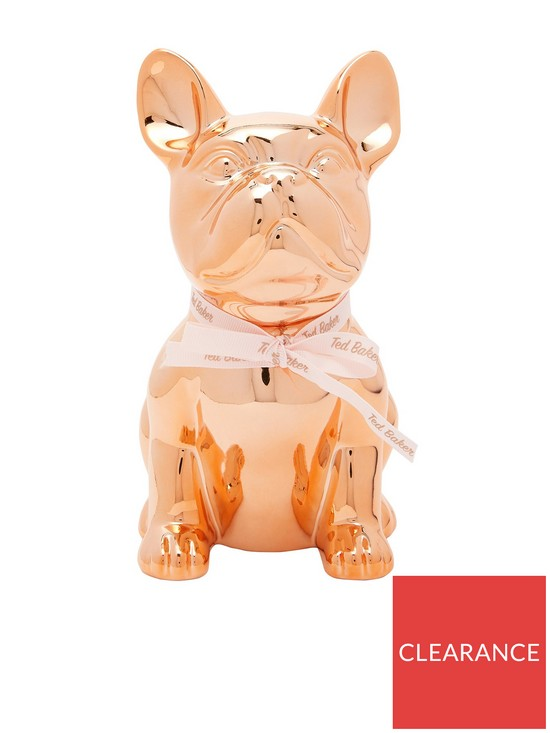 b019791f3a5d Ted Baker Buster Dog Money Box - Rose Gold