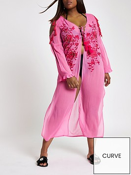 ri-plus-lace-detail-maxi-beach-dress-pink