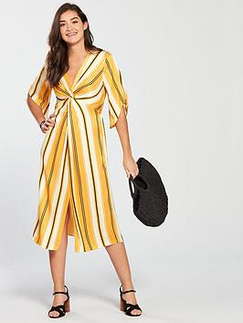 river-island-printed-midi-dress-yellow