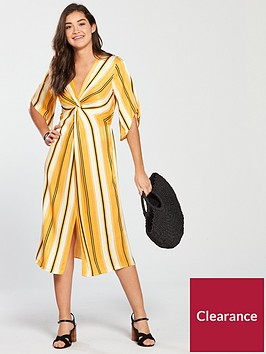 river-island-printed-midi-dress-yellow