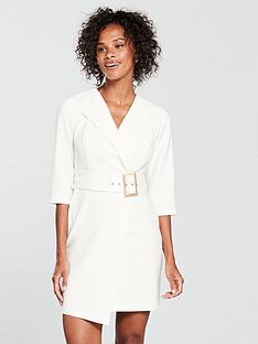 river-island-river-island-long-sleeve-belted-tux-dress