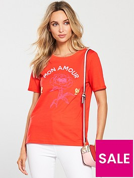 river-island-mon-amour-fitted-t-shirt