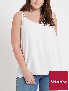 ri-plus-strappy-cami-top-white