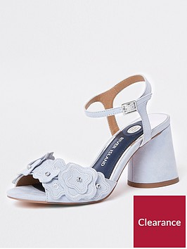 river-island-river-island-3d-flower-block-heel-sandal-blue-tiger-lily-3d-flower-block-heel