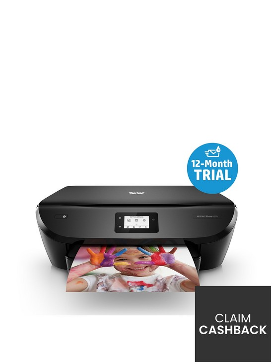 Envy 6220 All In One Printer (with FREE HP Instant Ink 12 Month Trial)
