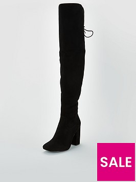 v-by-very-larissa-block-heel-lace-back-over-the-knee-boot-black
