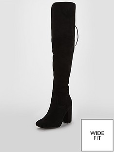 v-by-very-wide-fit-larissa-block-heel-lace-back-over-the-knee-boot-black