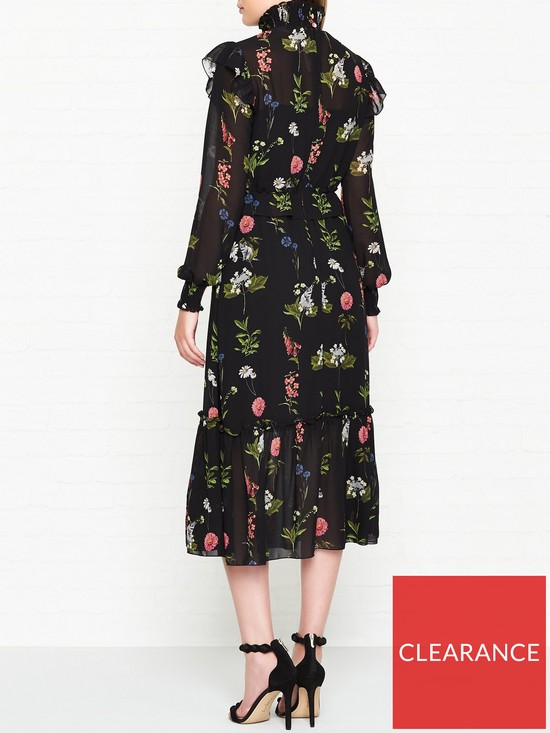 812096c33788a2 ... Ted Baker Simarra Florence Long Sleeve Midi Dress - Black. View larger