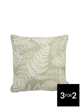 ideal-home-fern-leaf-cushion