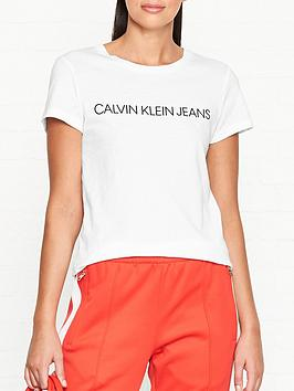 calvin-klein-core-institutional-logo-slim-fit-t-shirt-white