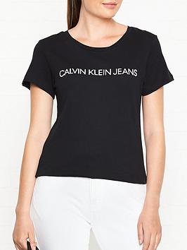 calvin-klein-core-institutional-logo-slim-fit-t-shirt-black