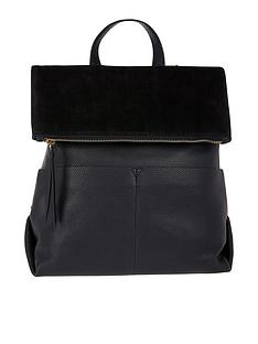 accessorize-lydia-leather-backpack-black