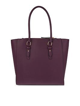 Accessorize Blair Shoulder Bag - Burgundy