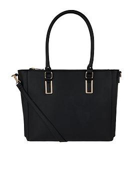Accessorize Elliot Shoulder Bag - Black