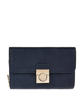 accessorize-becky-push-lock-wallet-navy