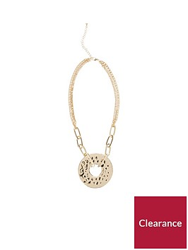 v-by-very-ash-heavy-hammered-chain-necklace