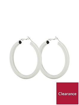 v-by-very-alba-thick-round-hoop-earrings-silver