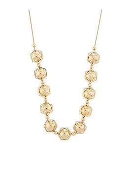 accessorize-hexagon-shapes-round-necklace-gold