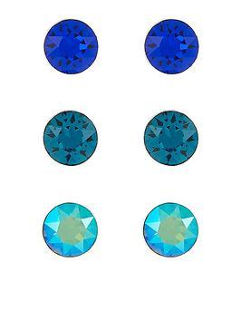 accessorize-accessorize-sterling-silver-3x-swarovski-stud-set-earrings