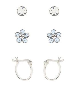 accessorize-pack-of-3-flower-stud-and-hoop-earrings-sterling-silver