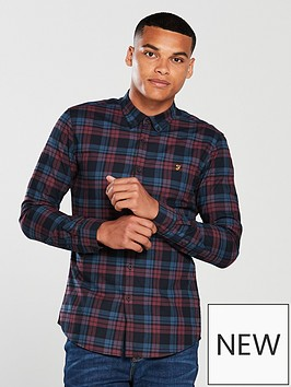 farah-radley-slim-fit-checked-shirt