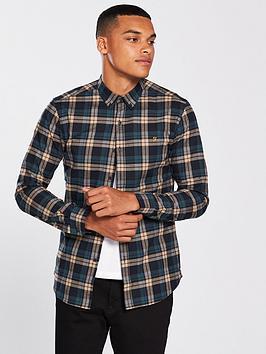 farah-radley-slim-fit-checked-shirt