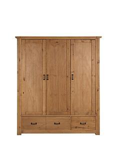 Albion 3 Door 3 Drawer Robe