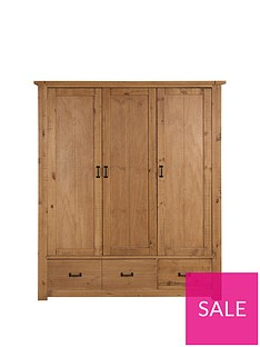 Albion 3 Door 3 Drawer Robe